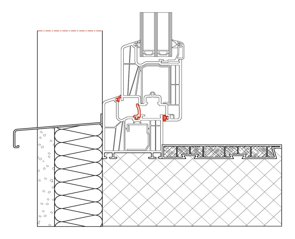 Perimeterabdeckrahmen integra alpina wasserdichte for Fenster 60x80